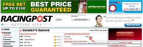 Betting Racing Post Co Uk - image 11